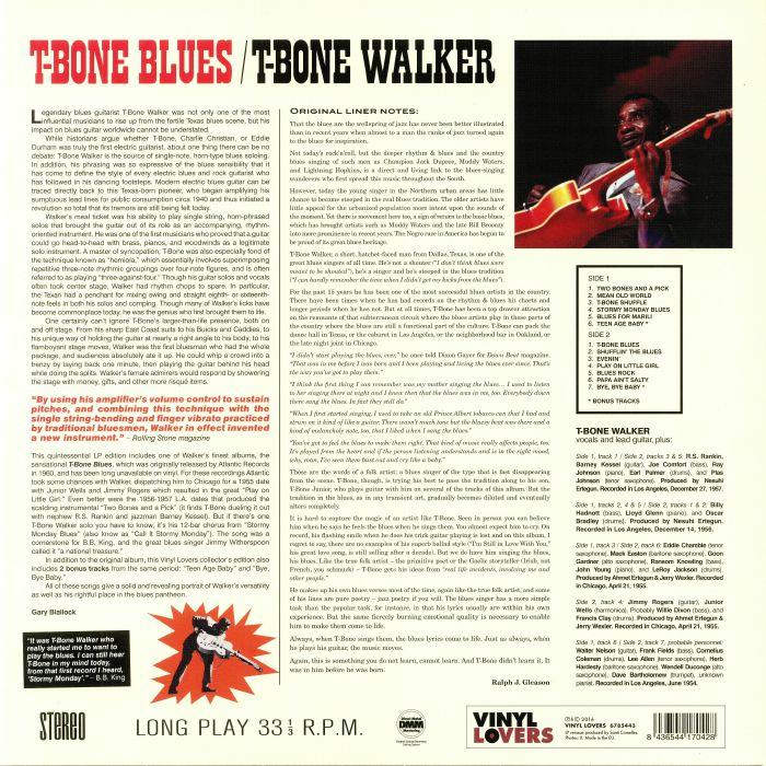 WALKER, T Bone - T Bone Blues (reissue)