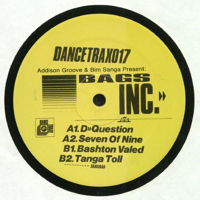 ADDISON GROOVE/BIM SANGA presents BAGS INC - Dance Trax Vol 17