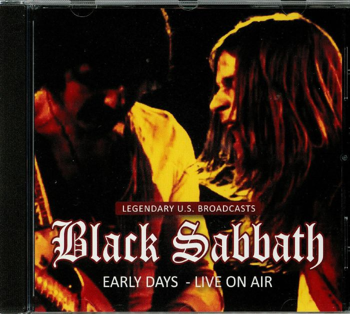 BLACK SABBATH - Early Days: Live On Air