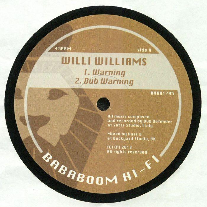 WILLIAMS Willi DUB DEFENDER