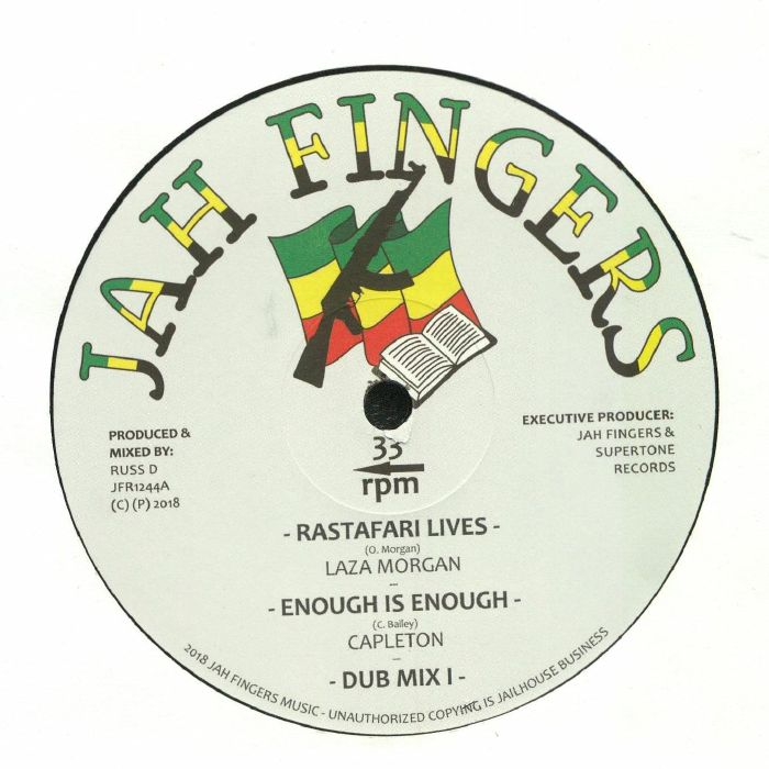 MORGAN, Laza/CAPLETON/DIGISTEP/RUSS D - Rastafari Lives