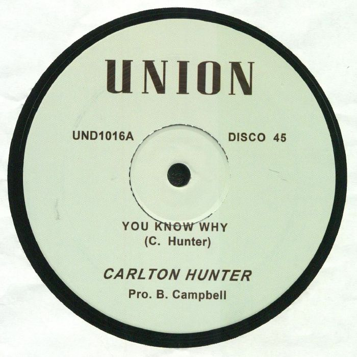 HUNTER, Carlton/PETE CAMPBELL - You Know Why
