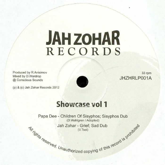 PAPA DEE/JAH ZOHAR/CYRENIUS BLACK - Showcase Vol 1