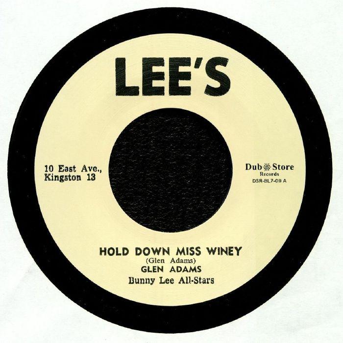 ADAMS, Glen/BUNNY LEE ALL STARS - Hold Down Miss Winey