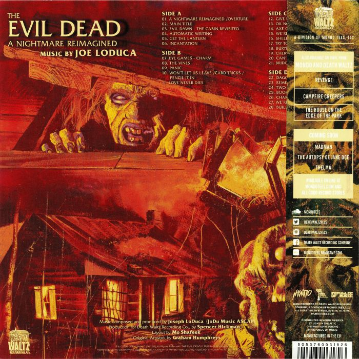 Joe Loduca The Evil Dead A Nightmare Reimagined