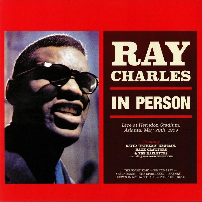 CHARLES, Ray - In Person: Live At Herndon Stadium Atlanta May 28th 1959