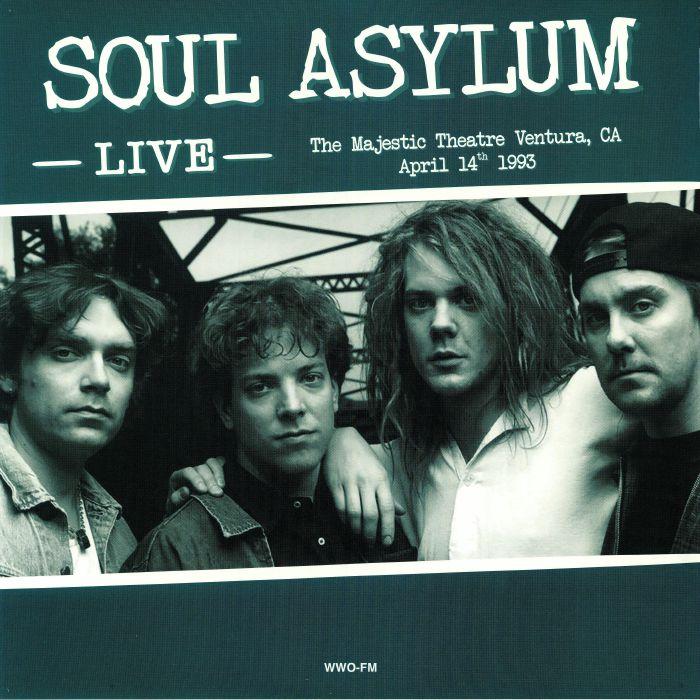 SOUL ASYLUM - Live: The Majestic Theatre Ventura CA April 14th 1993
