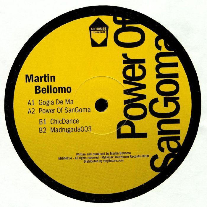 Marti Bellomo Power Of Sangoma Vinyl At Juno Records.