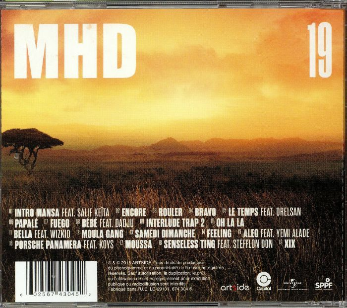 MHD 19 vinyl at Juno Records