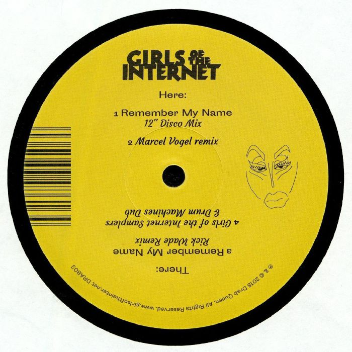 GIRLS OF THE INTERNET Remember My Name vinyl at Juno
