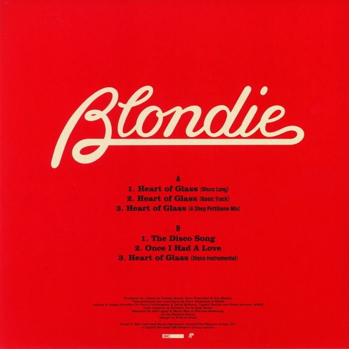 3855a925b019 BLONDIE Heart Of Glass vinyl at Juno Records.