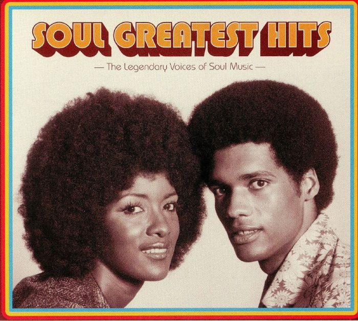 VARIOUS Soul Greatest Hits: The Legendary Voices Of Soul Music vinyl