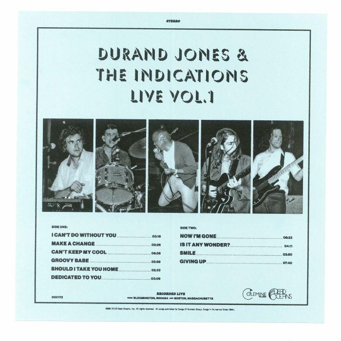 Durand JONES & THE INDICATIONS Durand Jones & The