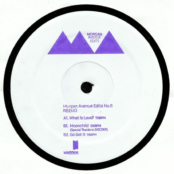 Reeno Morgan Avenue Edits No 6 Vinyl At Juno Records.