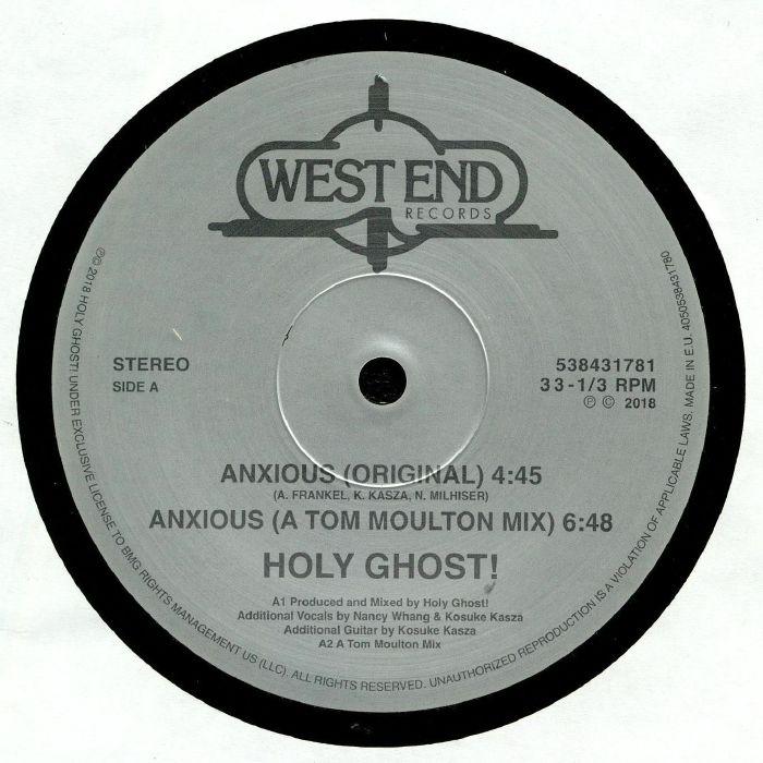 HOLY GHOST/CHUCK DAVIS ORCHESTRA Anxious/Spirit Of Sunshine