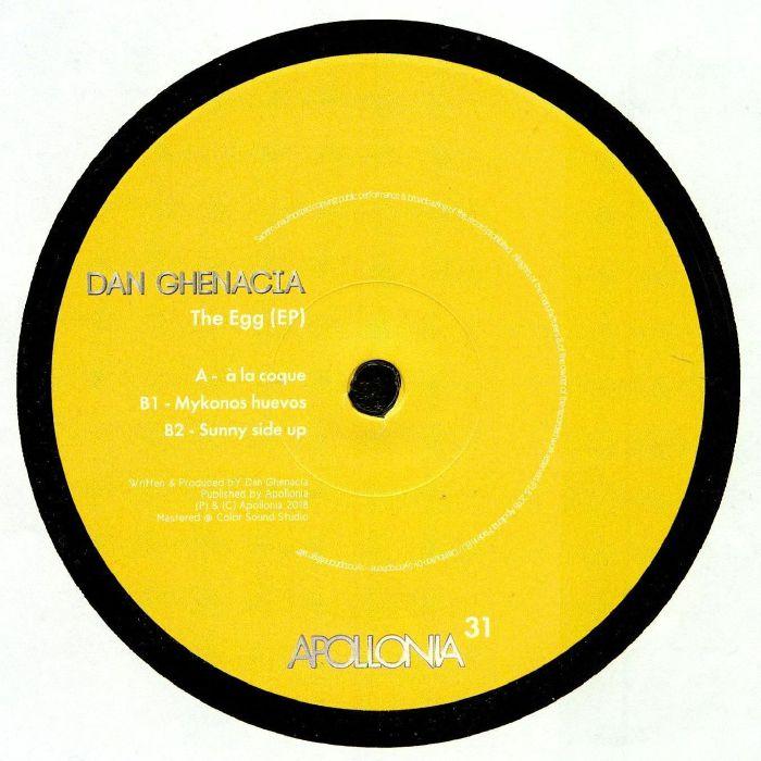 Dan Ghenacia The Egg Ep Vinyl At Juno Records.