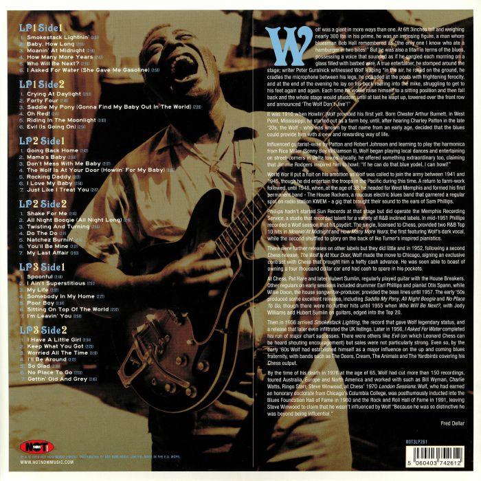 HOWLIN WOLF Smokestack Lightnin vinyl at Juno Records