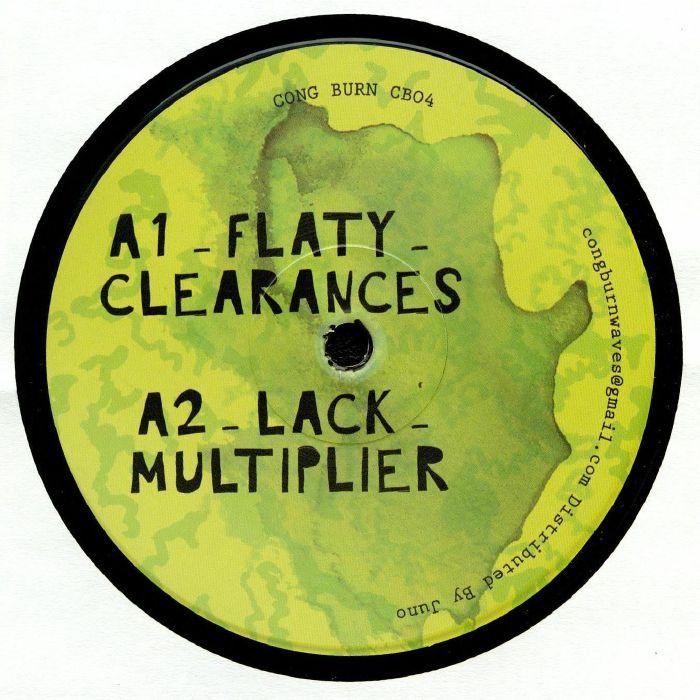 Flaty/lack/chekov/martinou Cong Burn 04 Vinyl At Juno Records.