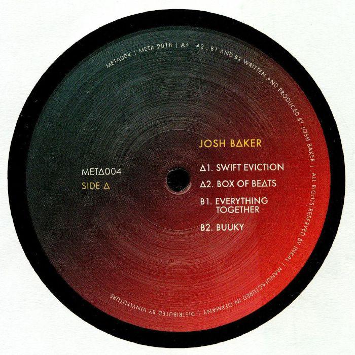 Josh BAKER Swift Eviction vinyl at Juno Records