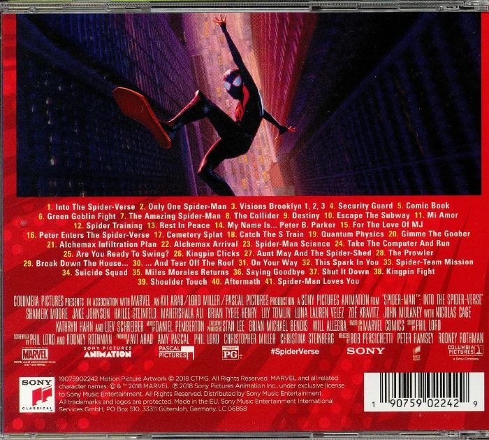 Daniel Pemberton Spider Man Into The Spider Verse Soundtrack