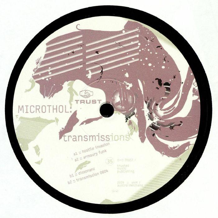 MICROTHOL Transmissions vinyl at Juno Records