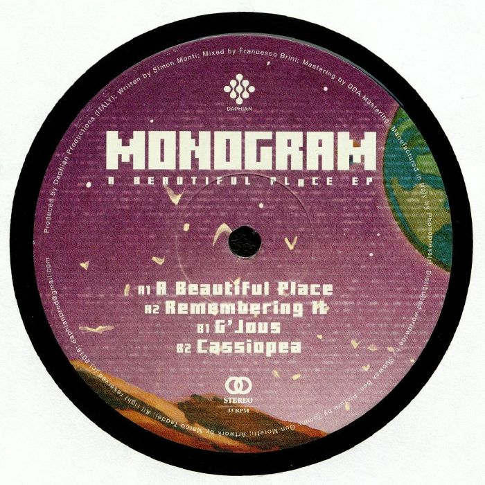 Monogram A Beautiful Place Ep Vinyl At Juno Records.