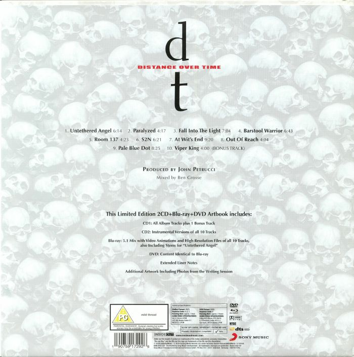 dream theater distance over time  DREAM THEATER Distance Over Time vinyl at Juno Records.