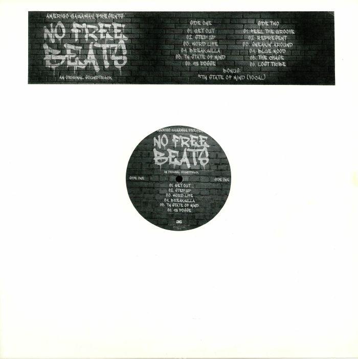 Amerigo GAZAWAY No Free Beats (Soundtrack) vinyl at Juno Records