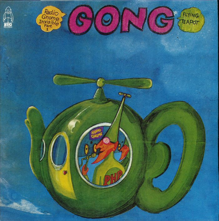 GONG Flying Teapot (Radio Gnome Invisible Part 1) (remastered) vinyl