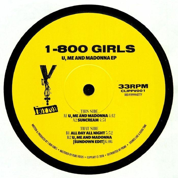 1 800 Girls U Me & Madonna Ep Vinyl At Juno Records.
