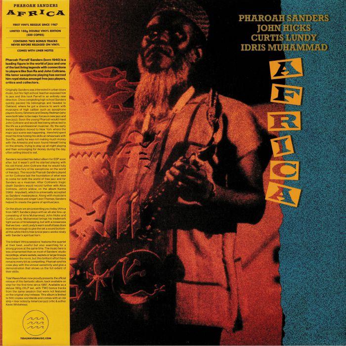 97fe548e282 Pharoah SANDERS Africa (reissue) vinyl at Juno Records.