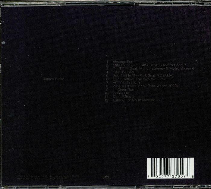 James Blake Assume Form Vinyl At Juno Records