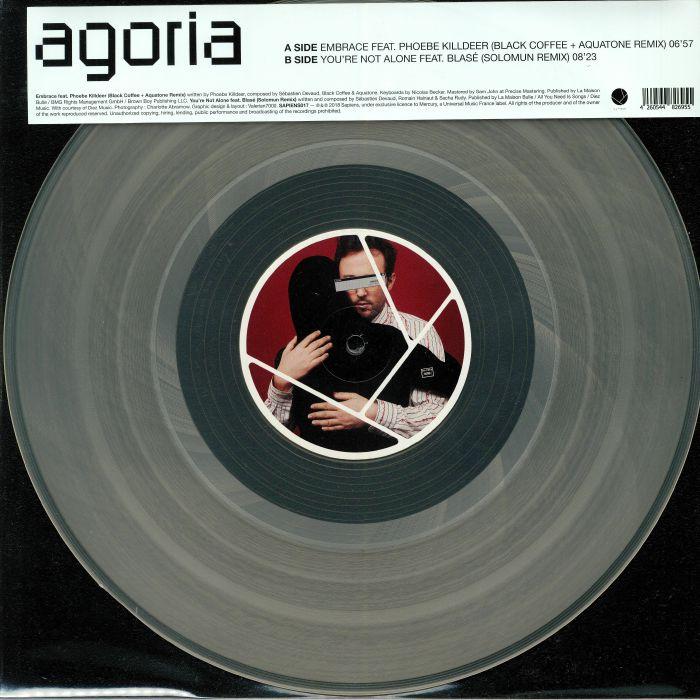 Agoria Embrace & You Re Not Alone Remixes Vinyl At Juno Records.