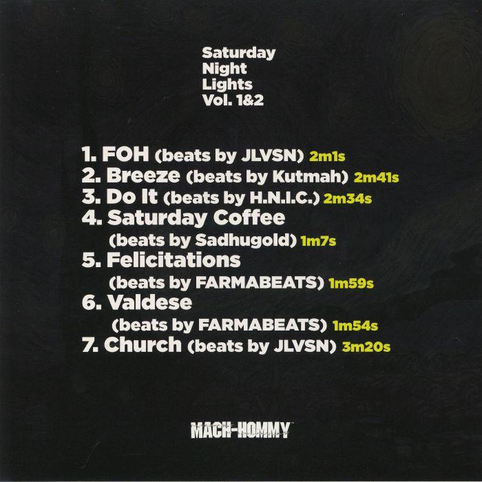 MACH HOMMY Saturday Night Lights Vol 1 & 2 vinyl at Juno Records