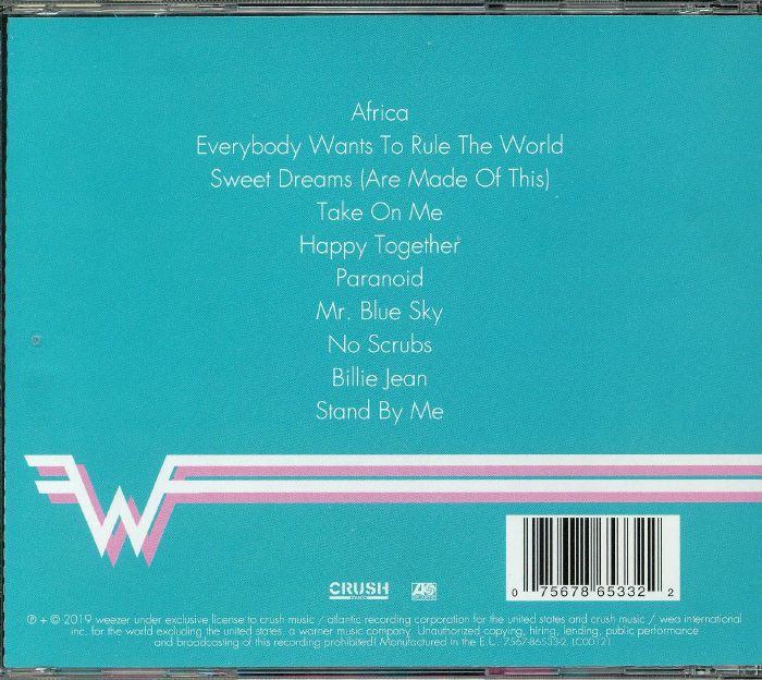 WEEZER Weezer (Teal Album) vinyl at Juno Records