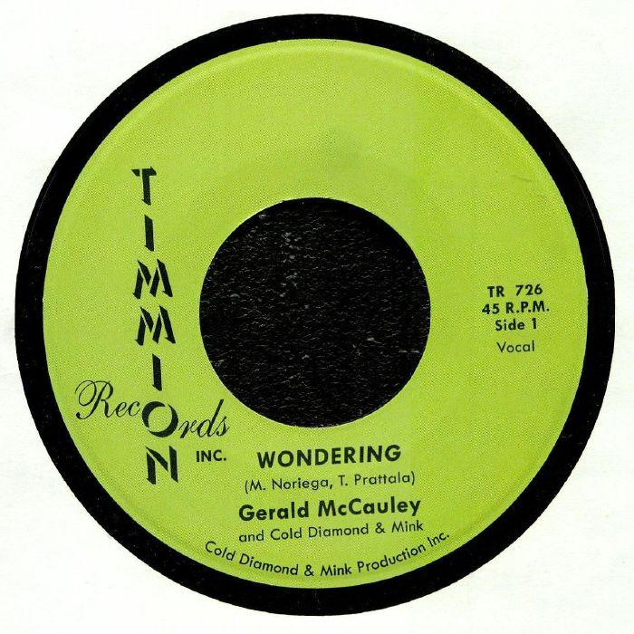 Gerald McCAULEY/COLD DIAMOND & MINK Wondering vinyl at Juno Records
