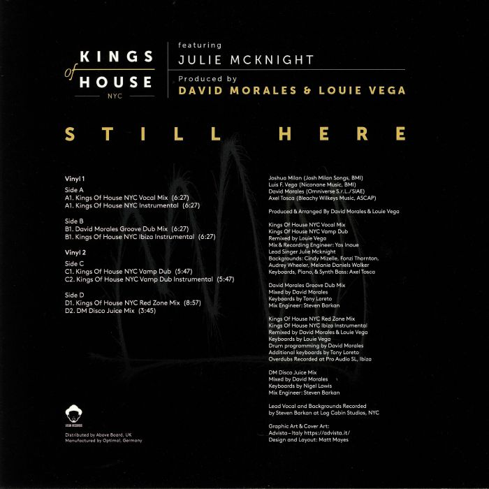 KINGS OF HOUSE feat JULIE McKNIGHT Still Here (Record Store