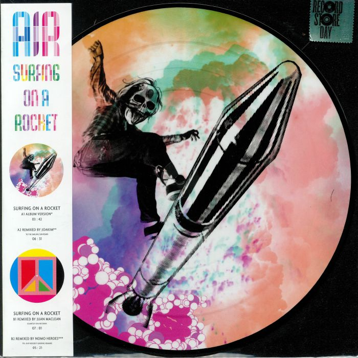 online retailer c4c92 54238 AIR - Surfing On A Rocket (Record Store Day 2019)