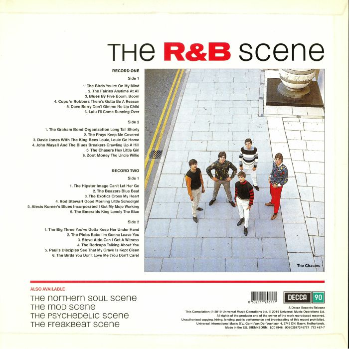 VARIOUS The R&B Scene (Record Store Day 2019) vinyl at Juno Records