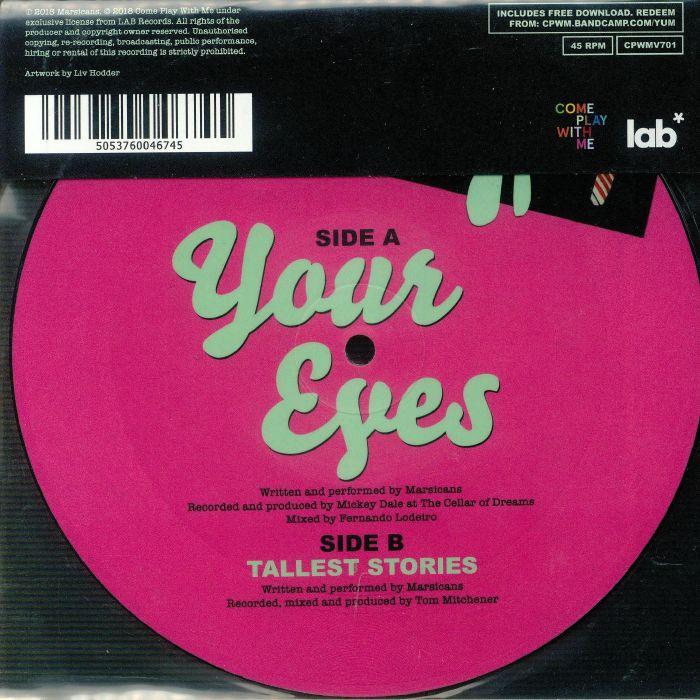 MARSCIANS Your Eyes vinyl at Juno Records