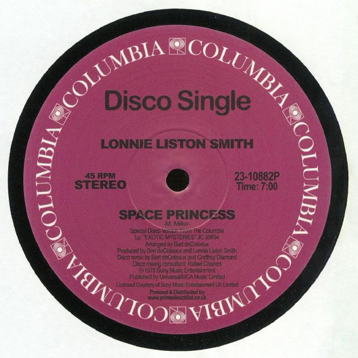 Lonnie Liston SMITH Space Princess (Record Store Day 2019) vinyl at