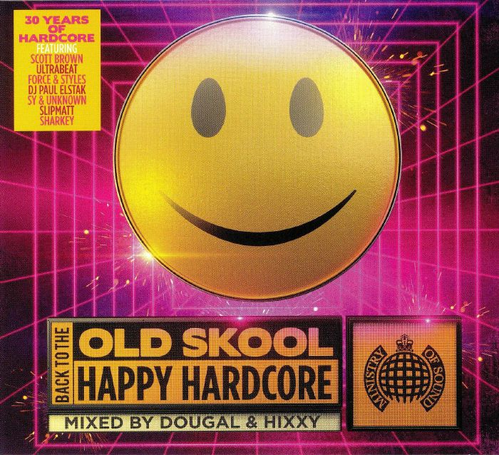 Old skool happy hardcore vinyl