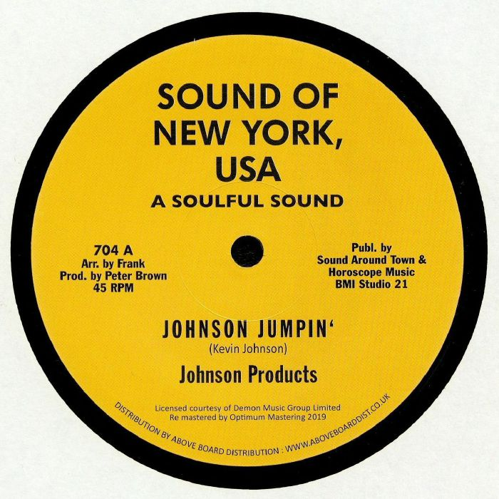 JOHNSON PRODUCTS/WILLIE WOOD/WILLIE WOOD CREW Johnson Jumpin