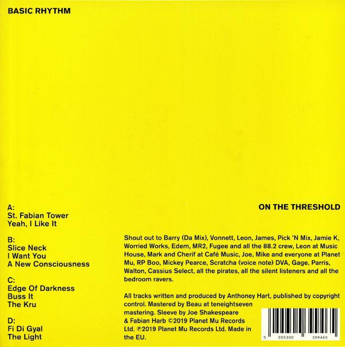 BASIC RHYTHM On The Threshold vinyl at Juno Records