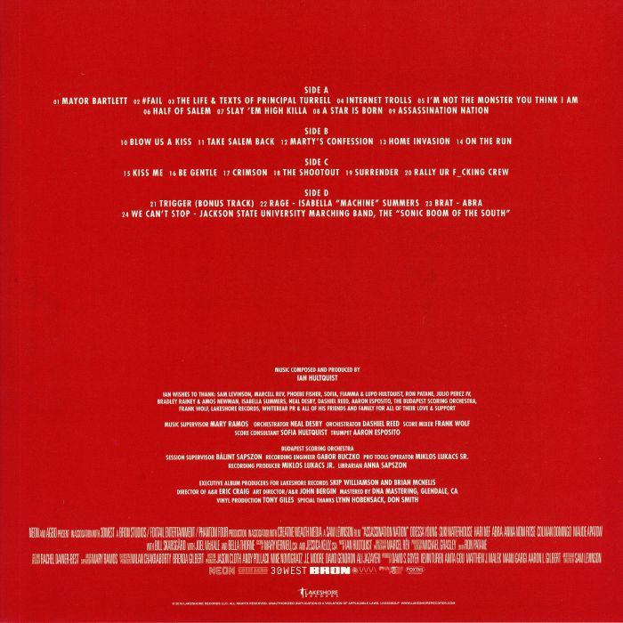 Ian HULTQUIST Assassination Nation (Soundtrack) vinyl at Juno Records