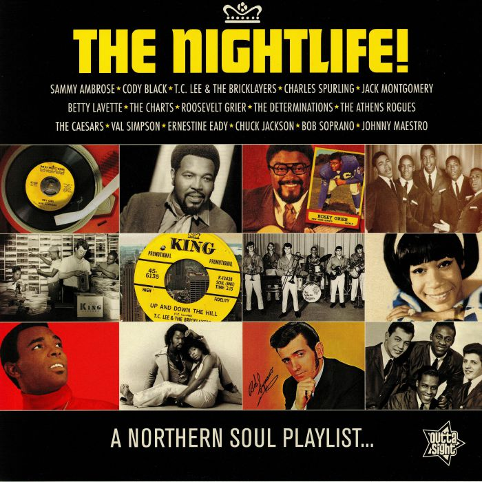 VARIOUS The Nightlife! A Northern Soul Playlist vinyl at