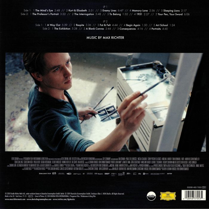 Max RICHTER Never Look Away (Soundtrack) vinyl at Juno Records