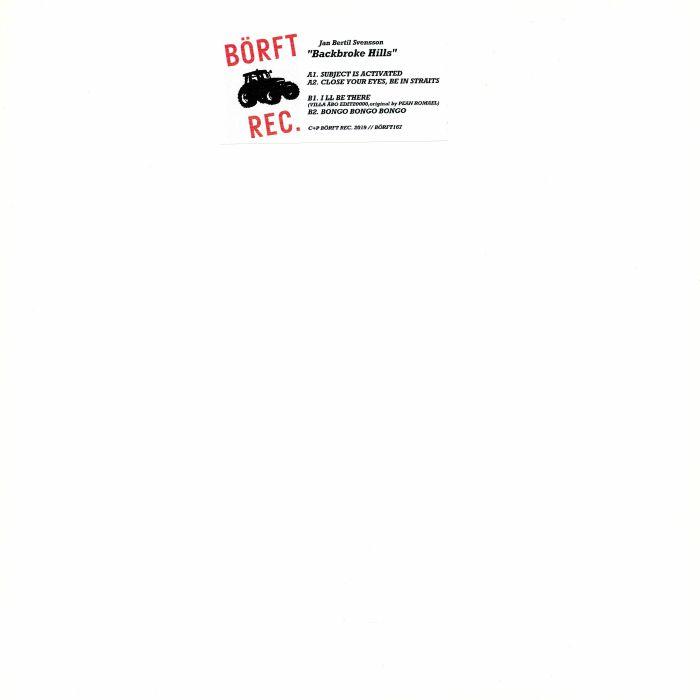 Jan Bertil aka JBS SVENSSON Backbroke Hills vinyl at Juno Records