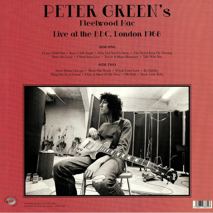Peter Green S Fleetwood Mac Live At The Bbc In London 1968