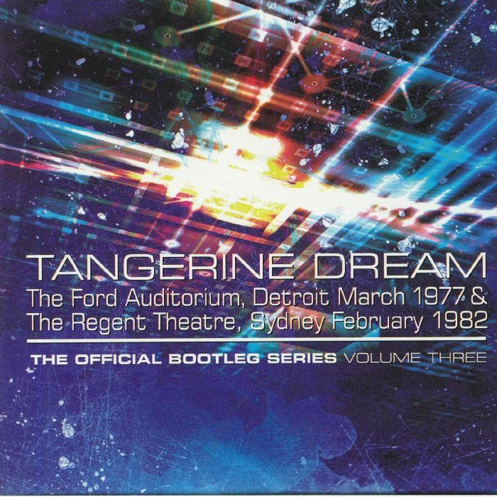 TANGERINE DREAM The Official Bootleg Series Vol 3 vinyl at